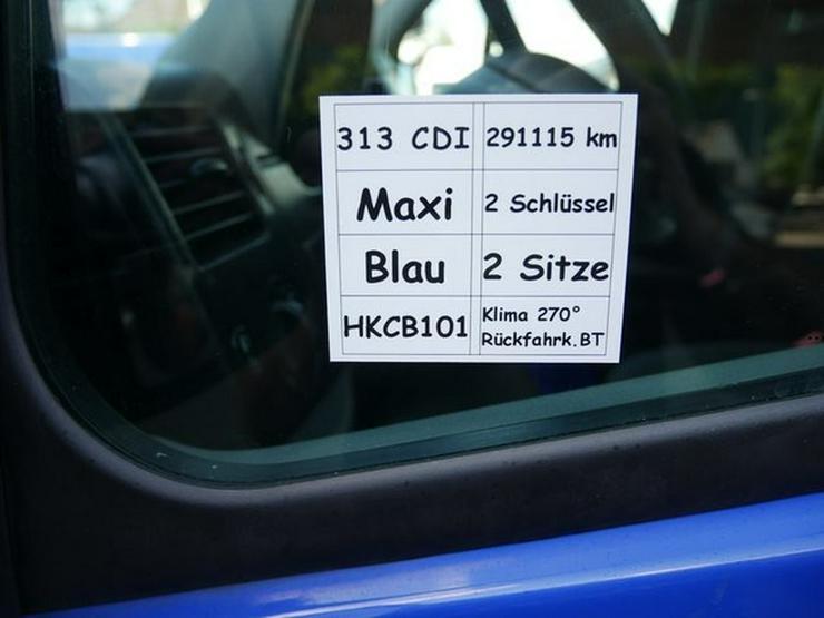 Bild 5: MERCEDES-BENZ Sprinter II Kasten 313 CDI Maxi mit Handwerkerklappe