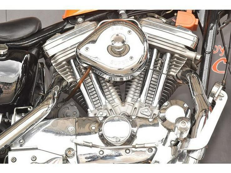 Bild 2: HARLEY DAVIDSON SPORTSTER XLH 883 CUSTOM BIKE