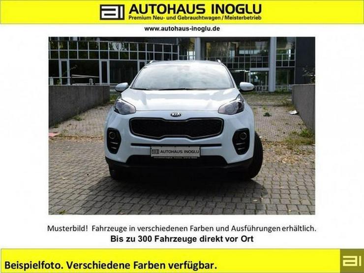 KIA Sportage NEU 1.6 Navi-7z Klimaauto alu17 shzg bth Privacy R.cam+sens T.omat spur.Ass
