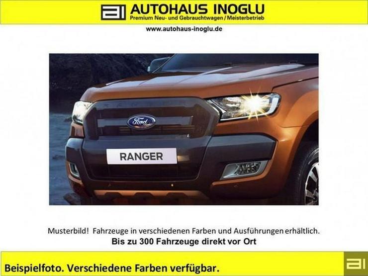FORD Ranger 2.2 TDCi AT 4x4 Limited Doppelkabine Navi, AHK, Leder, Alu 17, Sitzh. PDC, Klimaauto