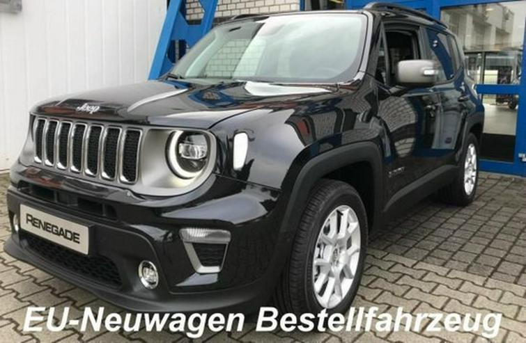 Jeep Renegade Mod. 2019 1.0 T-GDI Limited 2WD NEU-Bestellfahrzeug inkl. Anlieferung (D) - Autos - Bild 1