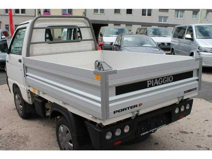 PIAGGIO Porter Kipper 4x4 ALLRAD (Daihatsu Hijet) Benzin - Autos - Bild 4