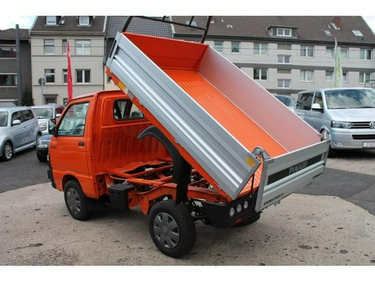 Bild 10: PIAGGIO Porter Kipper 4x4 ALLRAD (Daihatsu Hijet) Benzin