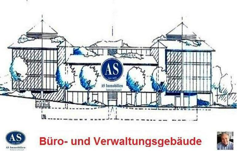 Baugrundstück für ein Büro- und Verwaltungsgebäude mit Tiefgaragen.