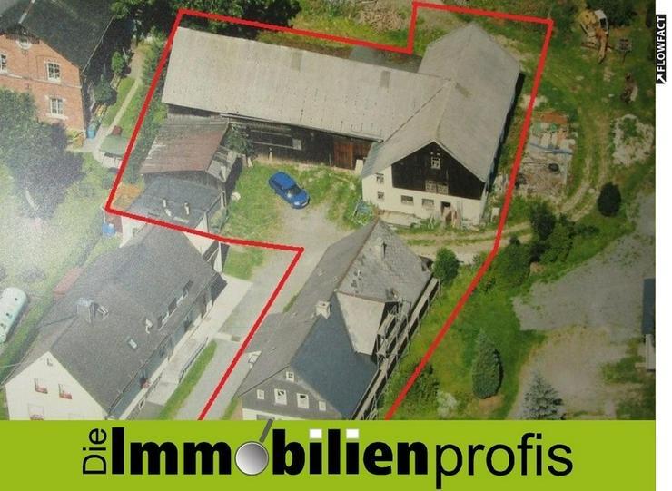 Bauernhaus mit Nebengelass und 2.000 m² Grund Nähe Bad Steben