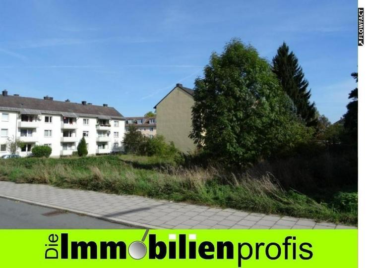 Baugrundstück für Geschosswohnungsbau oder Garagenanlage in Hof