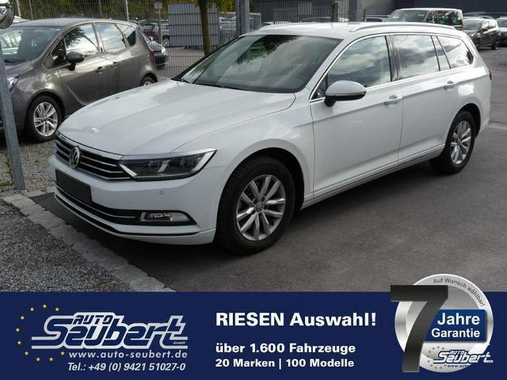 VW Passat Variant 2.0 TDI DPF COMFORTLINE * BMT * LED-SCHEINWERFER * NAVI * PDC * SHZG - Passat - Bild 1