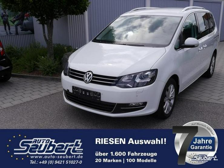VW Sharan 2.0 TDI DPF HIGHLINE * BMT * ACTIVE LIGHTING SYSTEM * NAVI * 7-SITZER * RÜCKFAHRKAMERA