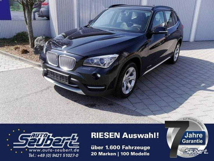 BMW X1 sDrive20d DPF XLINE * NAVI * XENON * TEILLEDER * PARKTRONIC * SITZHEIZUNG * TEMPOMAT