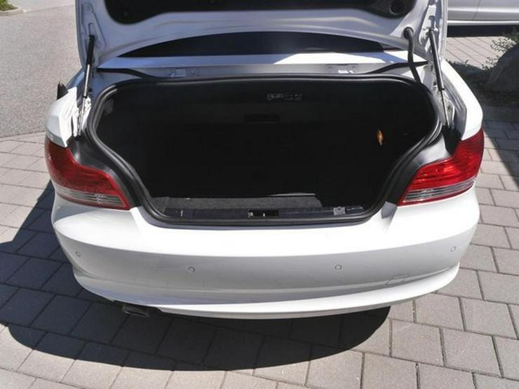 Bild 5: BMW 120d DPF Cabrio * LEDER * XENON * PARKTRONIC * SITZHEIZUNG * TEMPOMAT * KLIMAAUTOMATIK