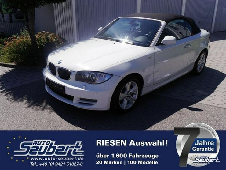 BMW 120d DPF Cabrio * LEDER * XENON * PARKTRONIC * SITZHEIZUNG * TEMPOMAT * KLIMAAUTOMATIK