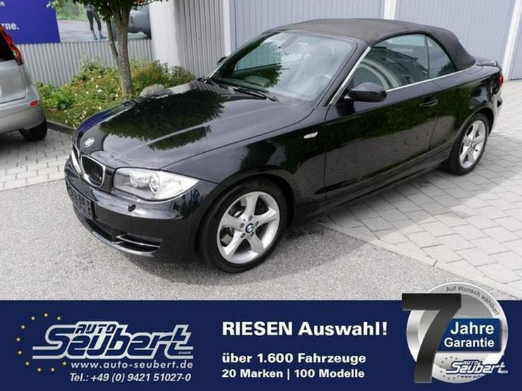 BMW 123d DPF Cabrio * LEDER * NAVI * XENON * KOMFORTZUGANG * PARKTRONIC * SITZHEIZUNG