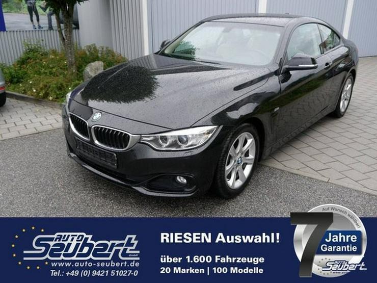BMW 420d Coupé SPORT LINE * AUTOMATIC * NAVI * XENON * PDC * SITZHEIZUNG * TEILLEDER