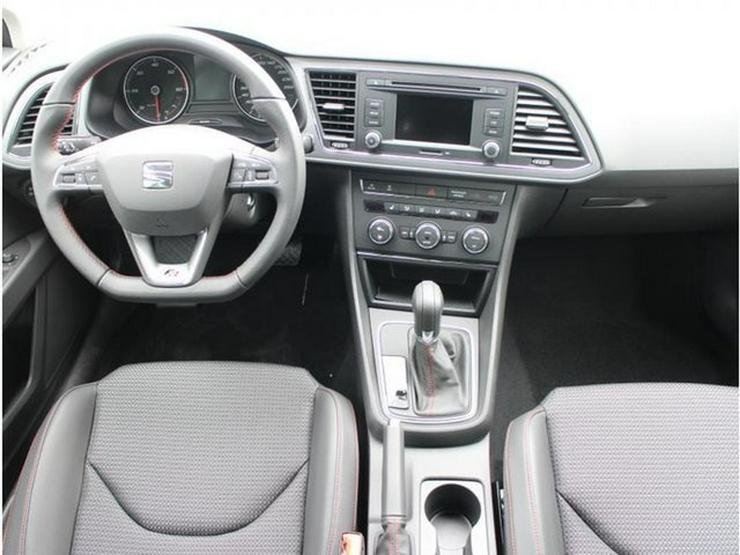 Bild 6: SEAT Leon 2.0 TDI DPF DSG FR * START&STOP * PARKTRONIC * SITZHEIZUNG * TEMPOMAT * TEILLEDER