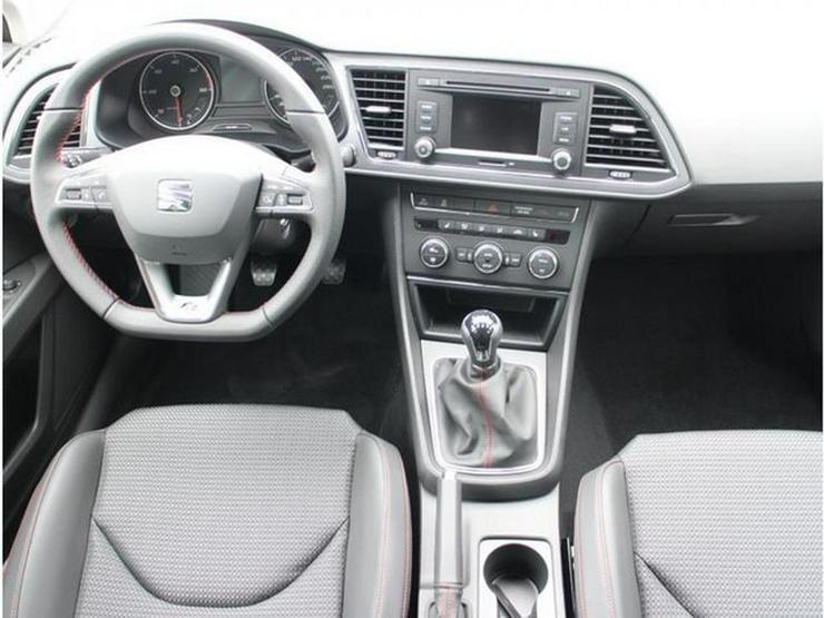 Bild 6: SEAT Leon 2.0 TDI DPF FR * START&STOP * VOLL-LED * PDC * SITZHEIZUNG * TEMPOMAT * TEILLEDER