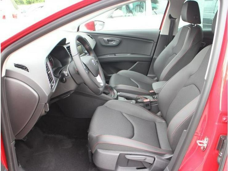 Bild 4: SEAT Leon 2.0 TDI DPF FR * START&STOP * VOLL-LED * PDC * SITZHEIZUNG * TEMPOMAT * TEILLEDER