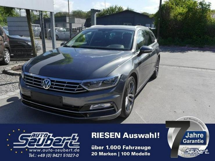 VW Passat Variant 2.0 TDI DPF DSG SCR HIGHLINE * BMT * R-LINE EXTERIEUR * BUSINESS PREMIUM-PAKET * A - Passat - Bild 1