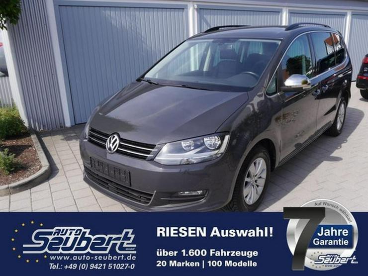 VW Sharan 1.4 TSI COMFORTLINE * BMT * WINTERPAKET * STANDHEIZUNG * PARKTRONIC * SHZG * 7-SITZER - Sharan - Bild 1