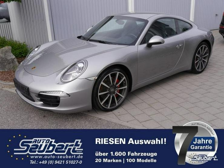 PORSCHE 911 (991) Carrera S * SPORTABGASANLAGE * SPORT CHRONO PAKET * 20 ZOLL * LEDER * NAVI - 911 - Bild 1