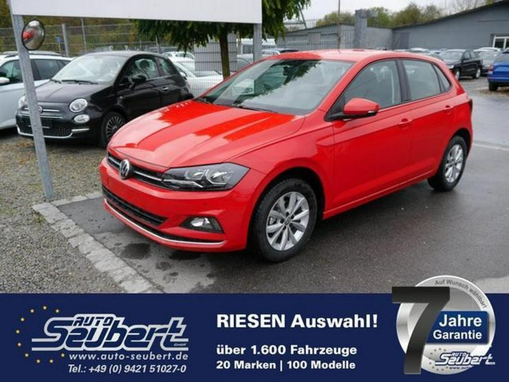 VW Polo 1.0 TSI DSG HIGHLINE * SOFORT * PARKTRONIC * SITZHEIZUNG * NSW * LM-FELGEN 15 ZOLL - Polo - Bild 1