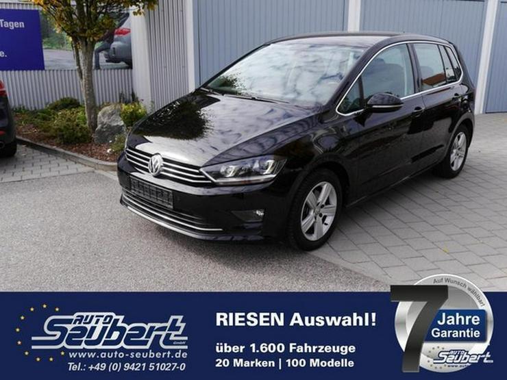 VW Golf Sportsvan 1.4 TSI HIGHLINE * BMT * WINTERPAKET * NAVI * XENON * PDC * SITZHEIZUNG - Golf - Bild 1