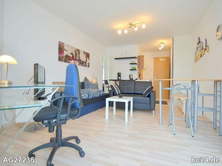 Exklusiv möblierte 1-Zimmer Wohnung mit Balkon und WLAN im Nürnberger Norden