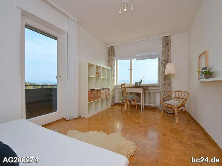 Bild 6: Wunderschön möblierte Wohnung mit zwei Balkonen und Blick auf die Schwäbische Alb in