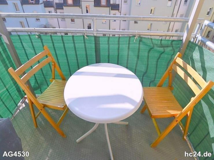 Bild 6: Gemütlich möblierte 3-Zimmer-Wohnung mit Balkon und Internet in Gibitzenhof