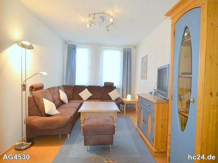 Gemütlich möblierte 3-Zimmer-Wohnung mit Balkon und Internet in Gibitzenhof - Wohnen auf Zeit - Bild 1