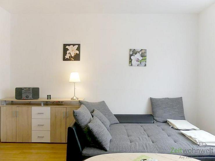 (EF0119_Y) Erfurt: Bischleben-Stedten, modern möblierte 2-Raum-Wohnung mit vollem Service - Bild 1