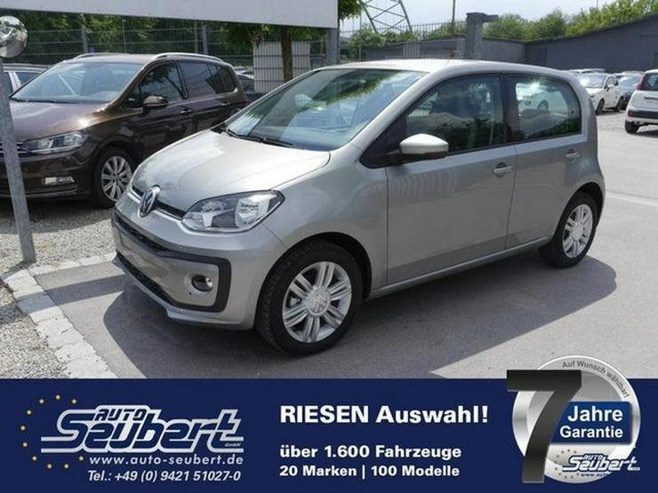 VW up! 1.0 HIGH UP! * SOFORT * WINTER PACK * PARKTRONIC * SITZHEIZUNG * TEMPOMAT * 15 ZOLL - Lupo - Bild 1