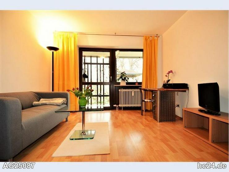 * möblierte 2-Zimmer-Wohnung in Göggingen
