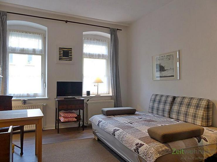 (EF0445_M) Erfurt: Andreasvorstadt, kleine möbliertes Apartment mit separater Küche, nur...