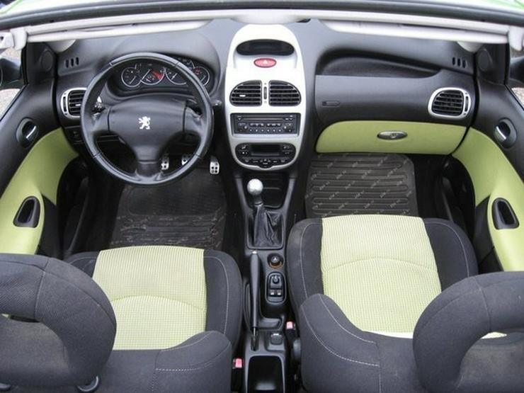 Bild 13: PEUGEOT 206 Cabriolet CC 110 mit Klima, erst 1 Halterin (1946 geb)