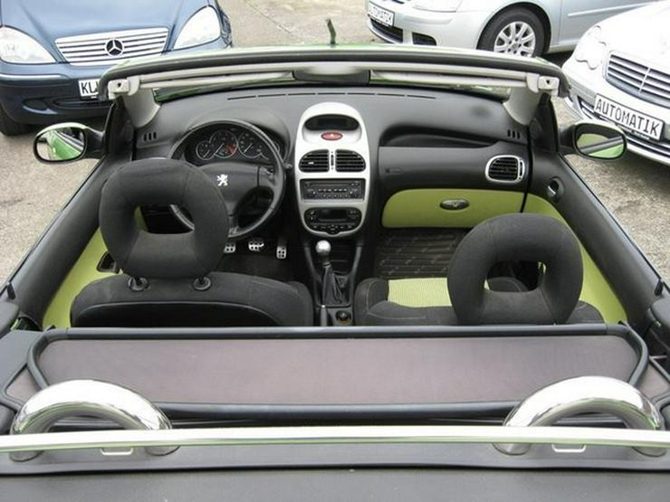Bild 30: PEUGEOT 206 Cabriolet CC 110 mit Klima, erst 1 Halterin (1946 geb)