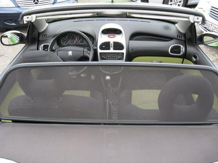 Bild 31: PEUGEOT 206 Cabriolet CC 110 mit Klima, erst 1 Halterin (1946 geb)