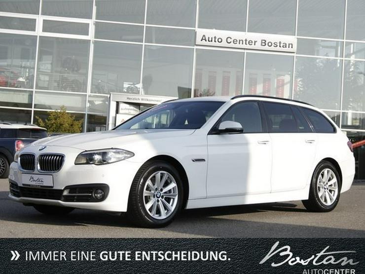 BMW 520d AUT-EURO 6-KEYLESS GO-SCHECKHEFT-1.HAND