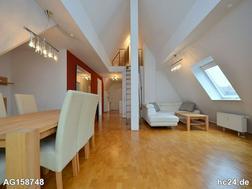 Tolle, modern möblierte Dachatelier Wohnung in der Altstadt von Stuttgart Bad Cannstatt