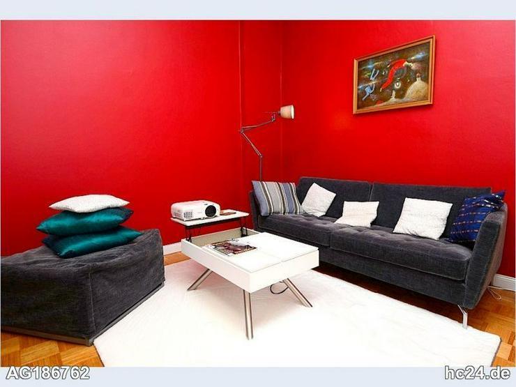Möblierte 3-Zimmer Altbauwohnung mit Internet und Balkon in Wiesbaden Westend