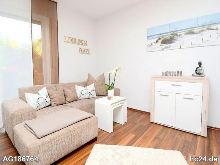 Möblierte 2-Zimmer Wohnung mit WLAN, Kamin, Waschmaschine und Terrasse in Wiesbaden