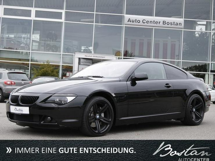 BMW 650i LEDER-NAVI-KEYLESS GO-DEUTS.FZG-SCHECKHEFT