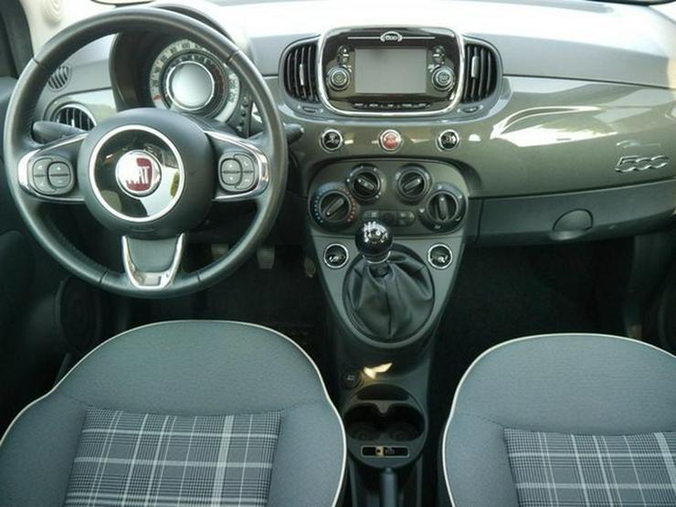 Bild 6: FIAT 500 1.2 8V LOUNGE * SOFORT * GLASDACH * TEMPOMAT * KLIMA * LM-FELGEN 15 ZOLL