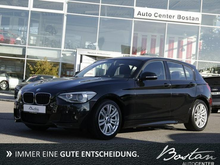 BMW 118d M-PAKET-NAVI-XENON-DEUTS.FZG-SCHECKHEFT - 1er Reihe - Bild 1