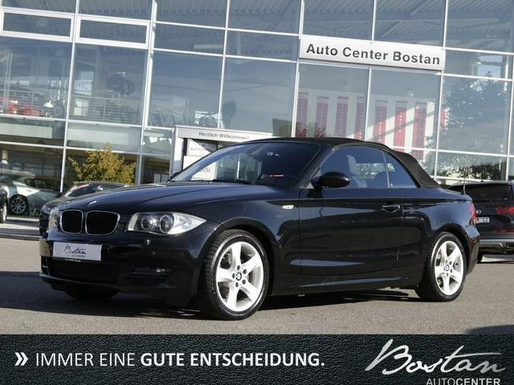 BMW 120i KLIMA-CABRIO-NAVI-XENON-DEU.FZG-SCHECKHEFT
