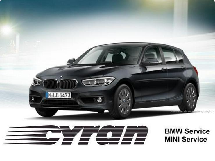BMW 118i Advantage Navi LED SHZ PDC Leder Tempomat - 1er Reihe - Bild 1