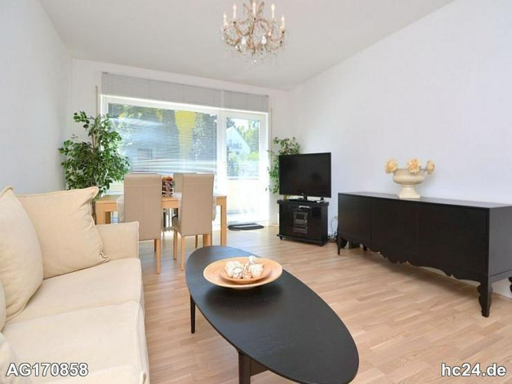 Modern möblierte 2-Zimmer Wohnung, in Top Lage, mit Balkon in Wiesbaden-Aukamm