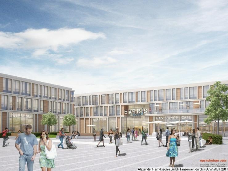 Neubau-Mall München-Nord-West: nur noch wenige Flächen ab 34-437m² verfügbar