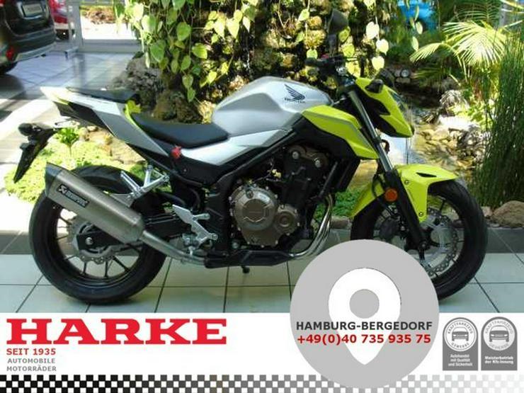 HONDA CB 500 F ABS 'Akrapovic'