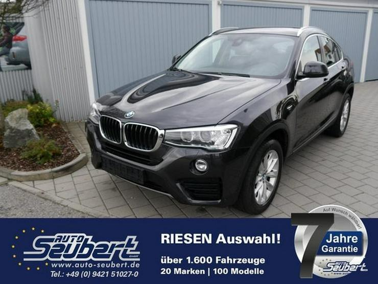 BMW X4 xDrive 20d DPF STEPTRONIC * AHK * RÜCKFAHRKAMERA * NAVI * XENON * PARKTRONIC * SHZG