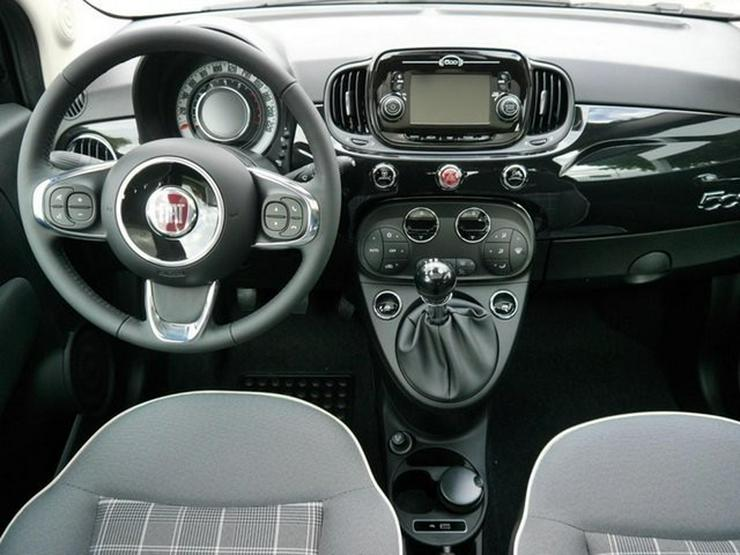 Bild 6: FIAT 500 1.2 8V LOUNGE PLUS * START&STOPP * PDC * GLASDACH * TEMPOMAT * KLIMAAUTOMATIK * 16 ZOLL